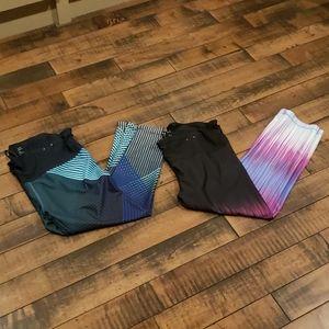 Gap workout leggings bundle of 2. Size medium